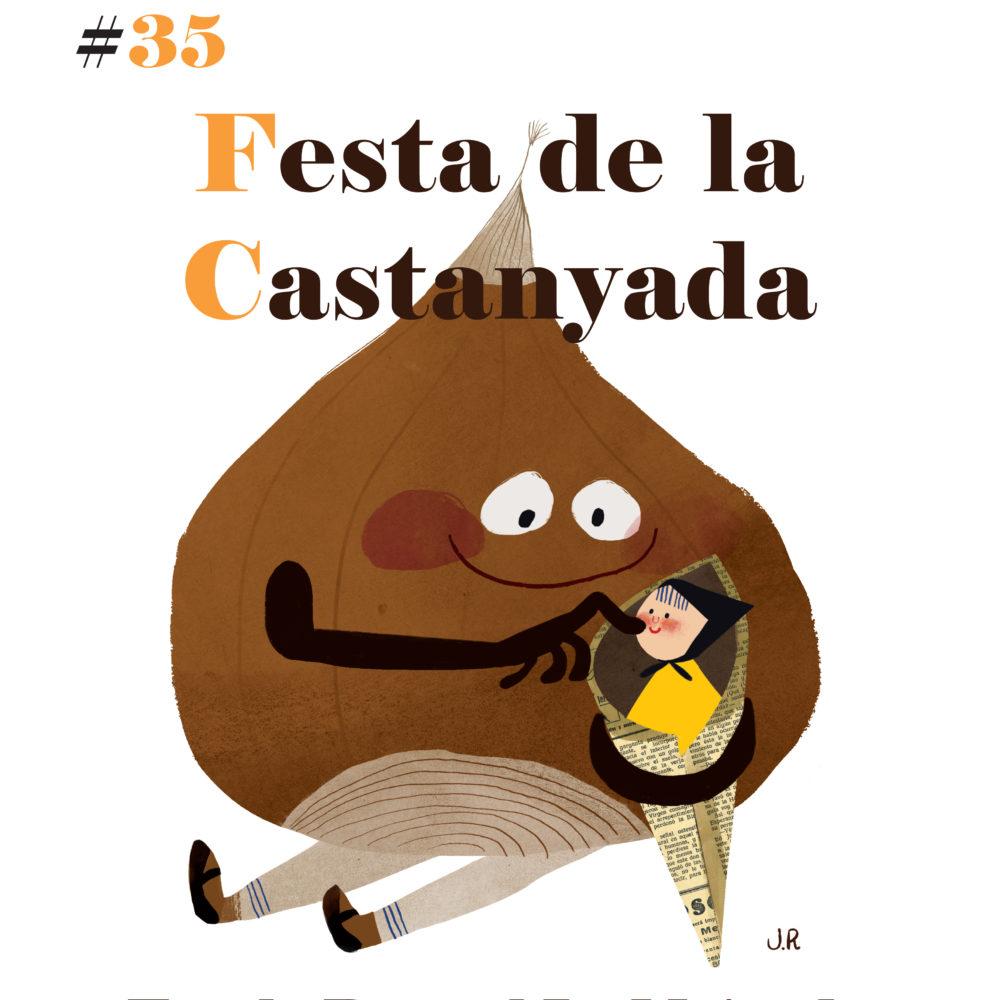 festa de la castanyada_outlines